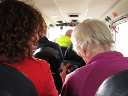 squished passengers